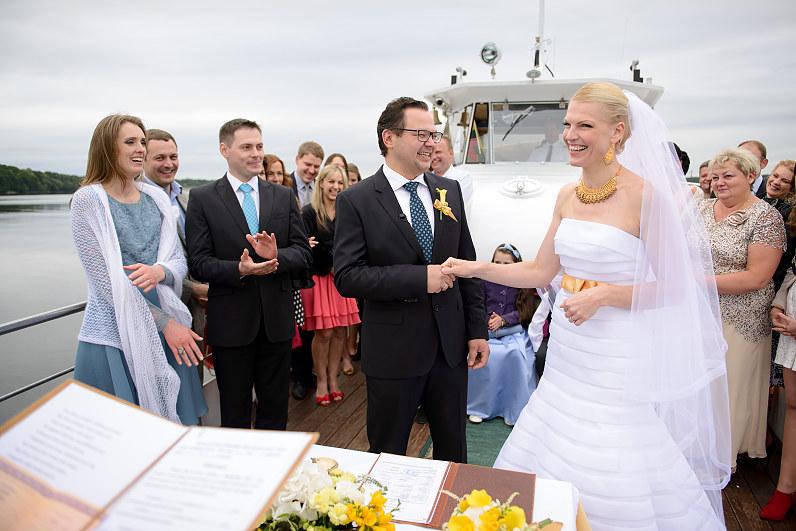 Vestuvės ant vandens