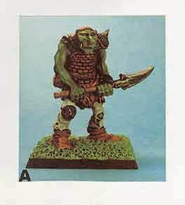 Giant Hill Troll pintado por Phil Lewis