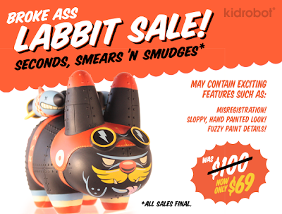 Kidrobot - Stealth Warfare Edition Yankee Pig Dog Labbit by Kronk
