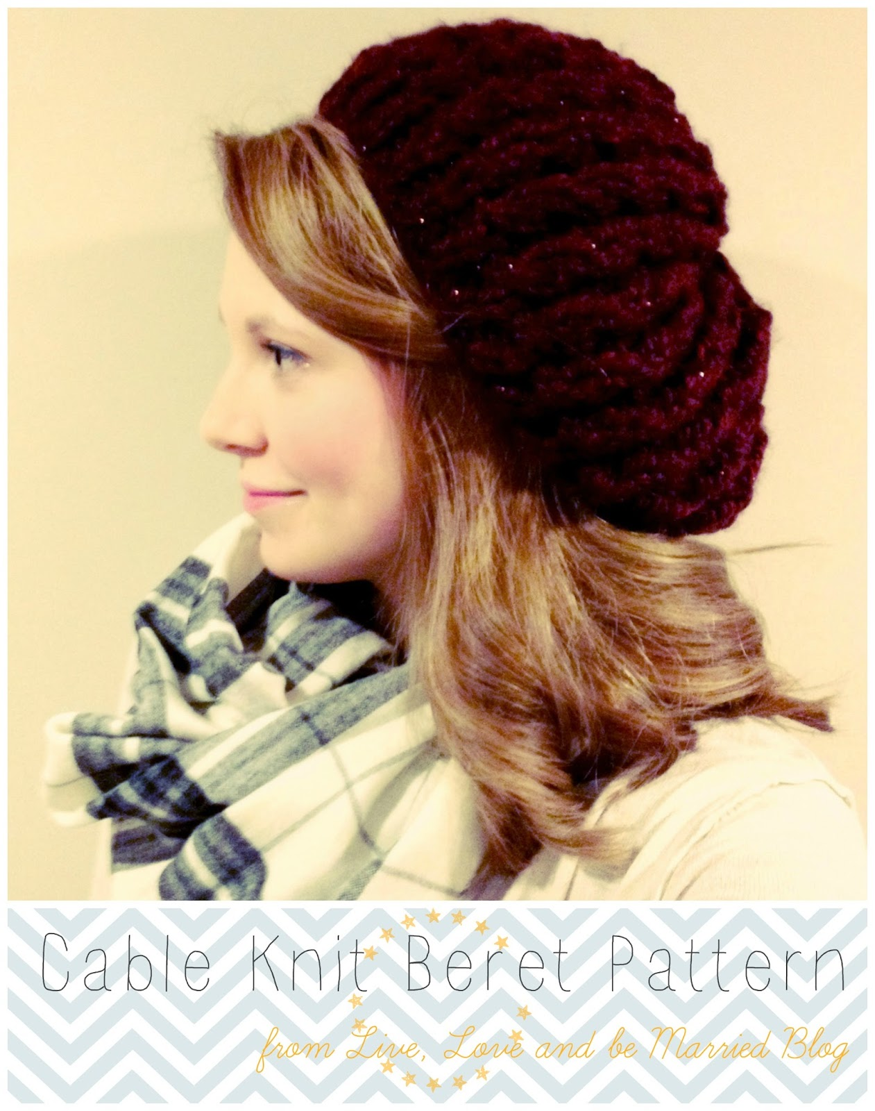 beret; free pattern; knitting pattern; free knitting pattern