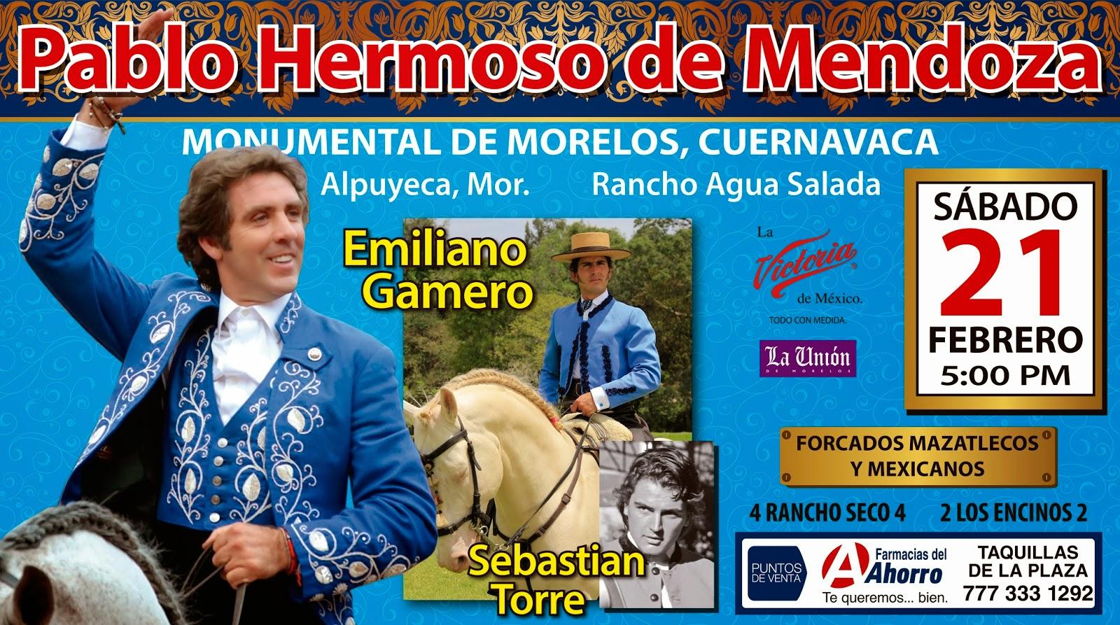 Video Resumen, Corrida de rejones Morelos 2015