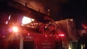 Tiga Pertokoan Di Jalan Merdeka Bogor, Dilalap Si Jago Merah