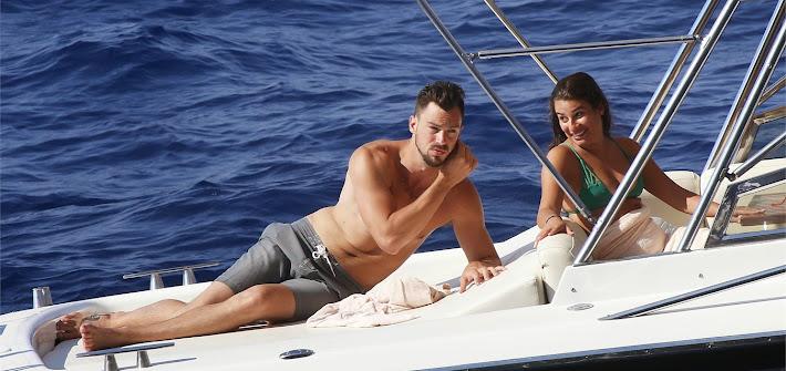 Lea Michele innamorata a Capri