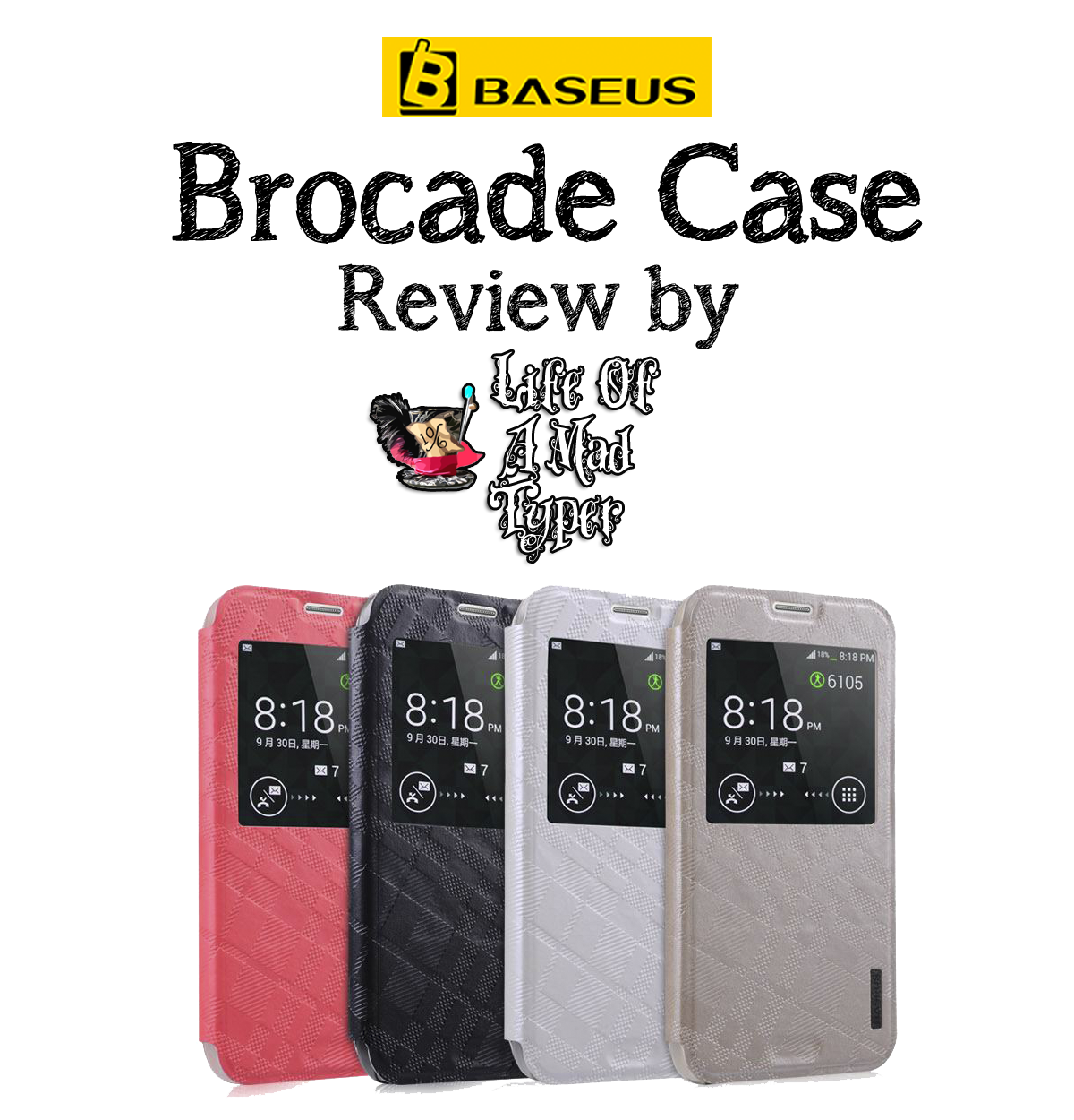 Brocade Case for Samsung Galaxy S5 by BASEUS