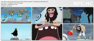 One Piece Episode 724 (Tak Bisa Diserang! Rahasia Mengejutkan Trebol!) Bahasa Indonesia