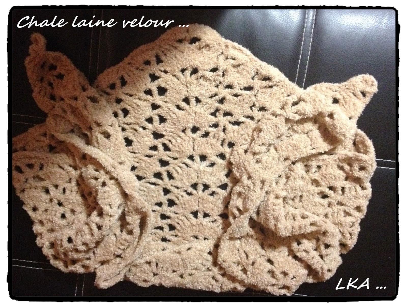 Châles de laine pour les filles