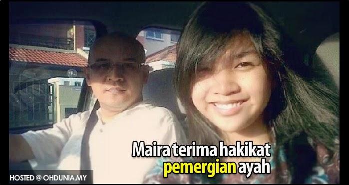MH370: Maira Elizabeth Nari kini boleh terima hakikat 'pemergian' ayah