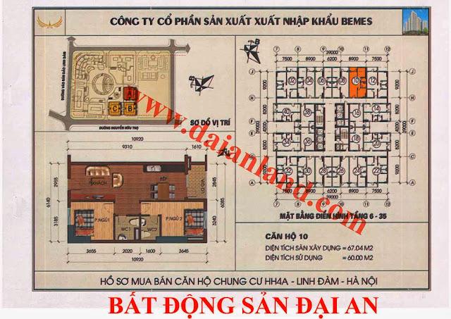 Căn hộ số 10 - Chung Cư HH4A Linh Đàm