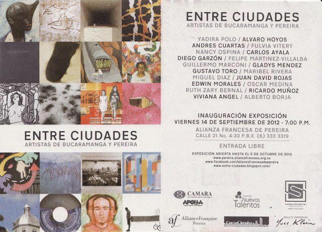 ARTISTAS ENTRE CIUDADES BUCARAMANGA / PEREIRA