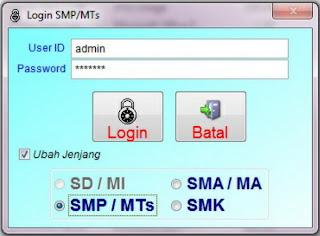 Cara Instal Aplikasi Online Ujian Nasional