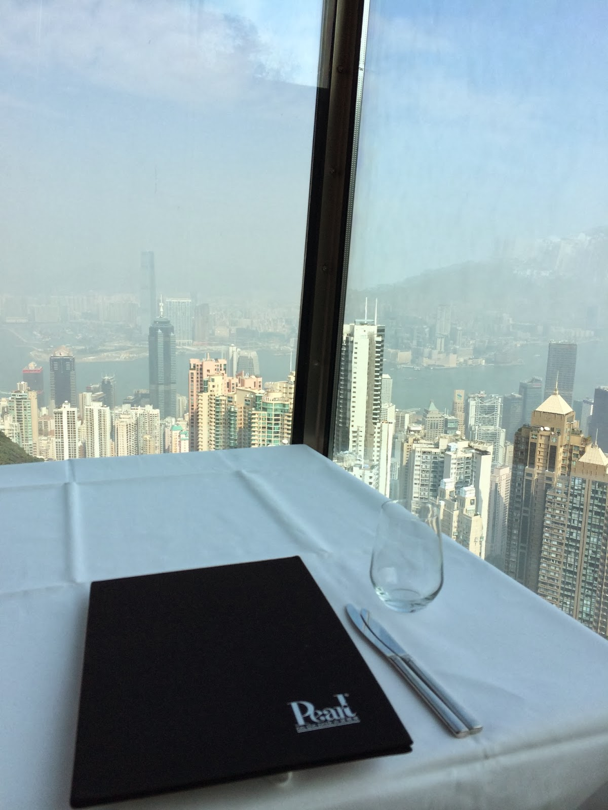 Tosca at Ritz Carlton Hong Kong - the view is the best!   Life with ...