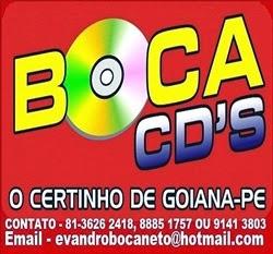 """Divulgação: Boca Cds """"O Certinho de Goiana"""""""