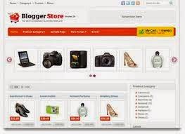 Kumpulan Template Toko Online Gratis untuk Blogspot/Blog