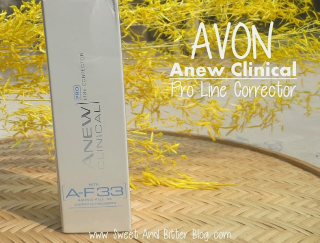 AVON Anew Clinical PRO Line Corrector Treatment with AF-33 Review