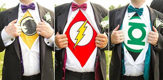 Diy superhero wedding