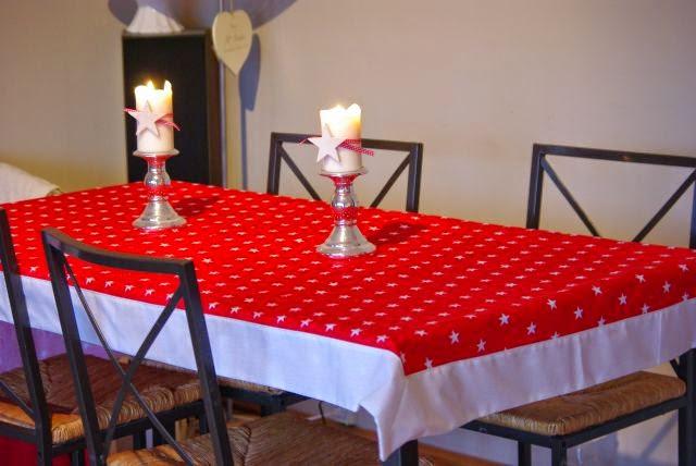 Obrus na stoł, Obrus na wigilię