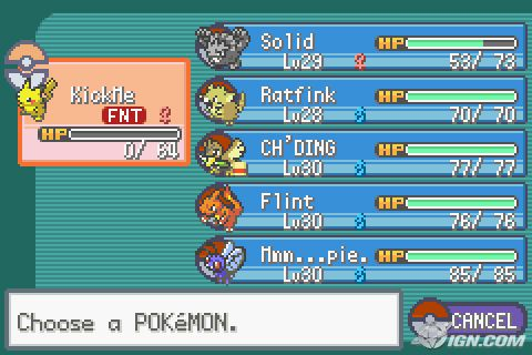 pokemon fire red download for visual boy advance