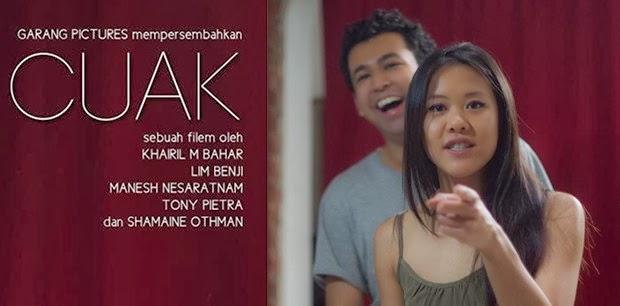 Cuak movie banner - malaysia 2014 film