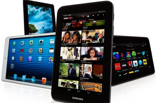 Tablets like the Samsung Galaxy S5 and the Nexus 7 haven't killed the PC yet.