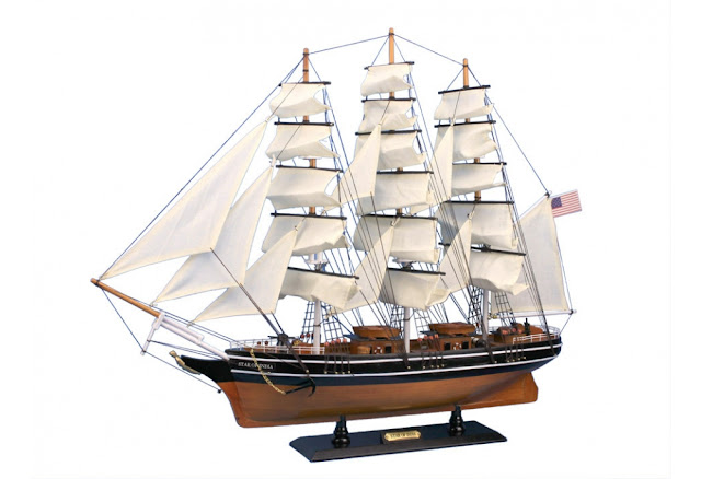 Star of India Wooden Ship Model