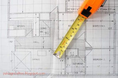 how to draw a house plan and unit of measurement