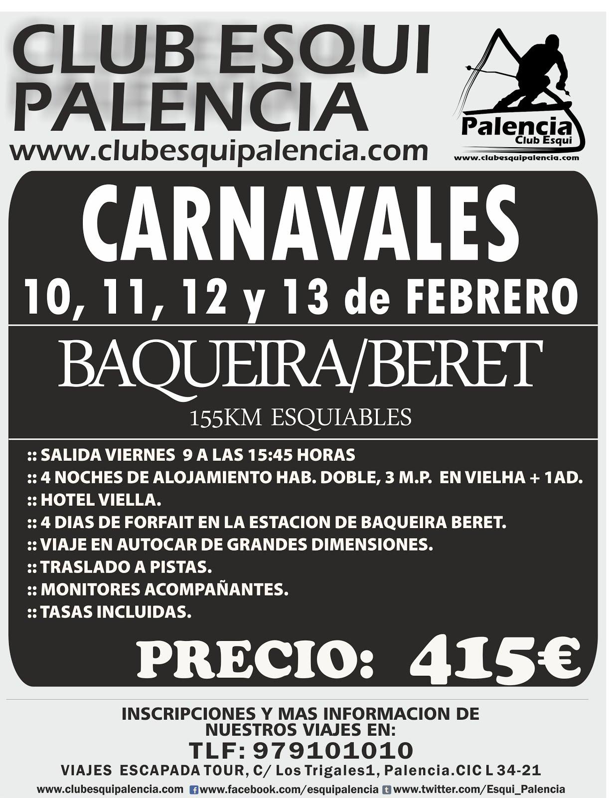 Carnavales en Baqueira