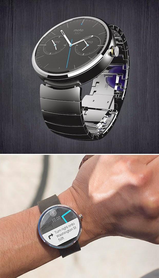 Motorola Moto 360 Grease N Gas