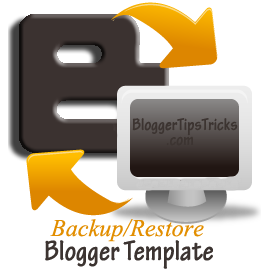 backup restore blog template