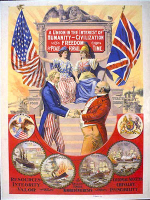Uncle Sam (United States) and John Bull (United Kingdom)