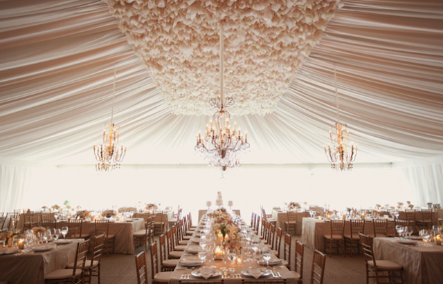 Shabby chic Wedding Tents