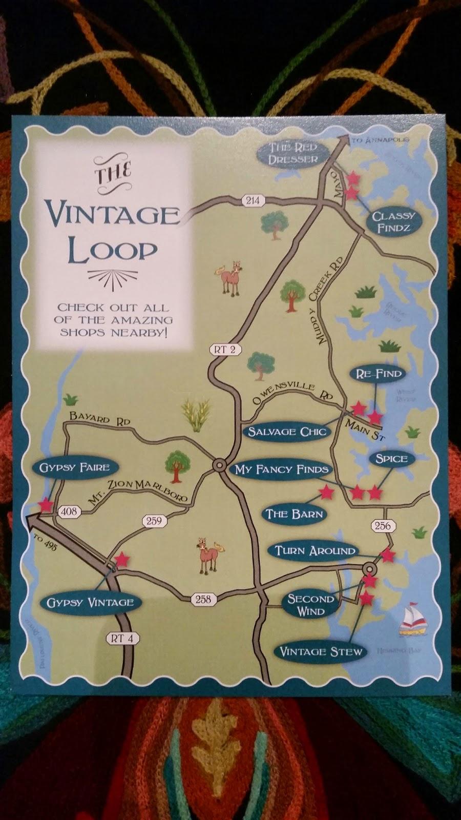 Chesapeake Bay Area Maryland The Vintage Loop