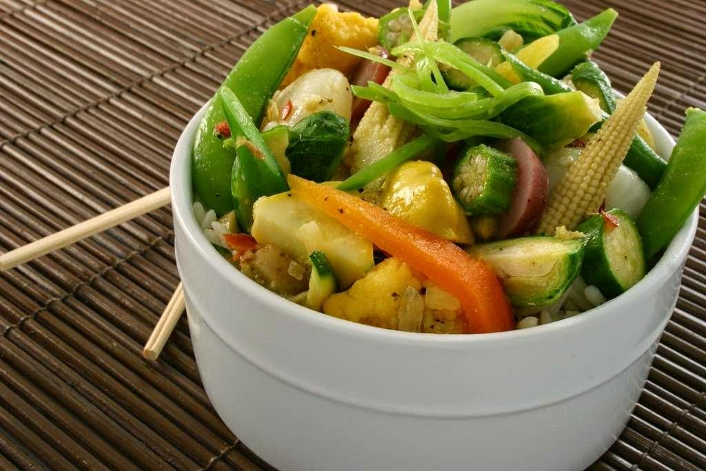 Verduras al vapor recetas faciles
