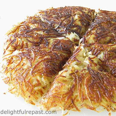 Pomme Rosti - Hash Browns with an Attitude / www.delightfulrepast.com