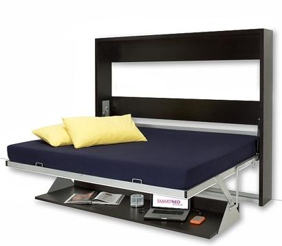 Quality divan beds smartbed 39 dotto 39 desk bed for Quality divan beds