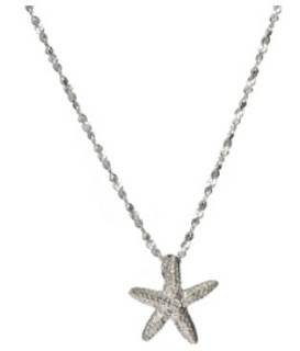 starfish necklace tropical jewelry