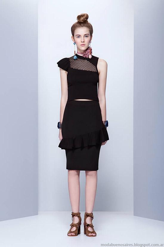 Moda verano 2016 Jazmin Chebar. Ropa de moda 2016.