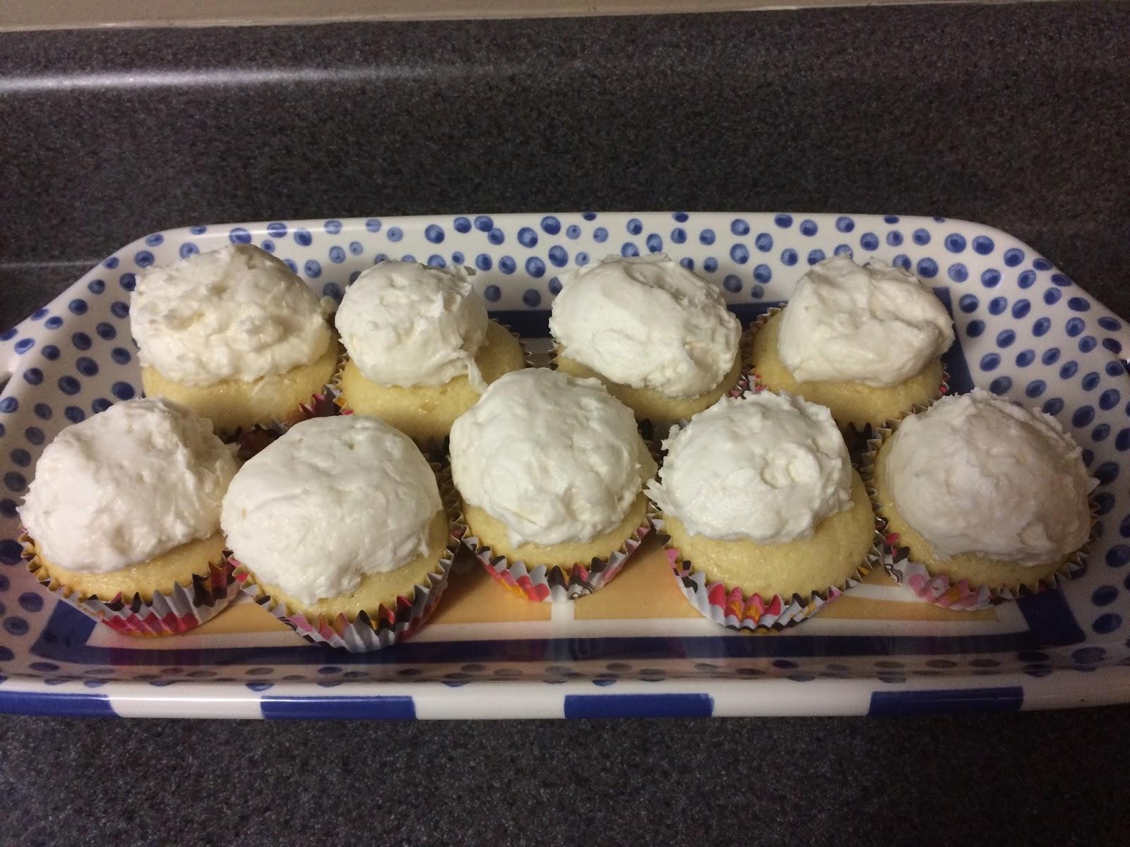 Lemon Cupcakes with Lemon Coconut Buttercream