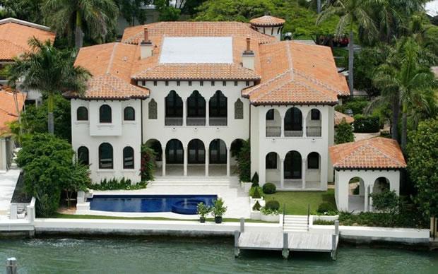 Mansão de Ricky Martin vendida em Miami Beach por R$ 20 milhões (Foto: Grosby Group)