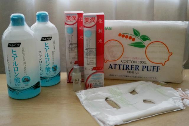 Skin Care Haul: Suzuran, Arezia  SK-II, and Haruhada from Sasa.com