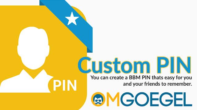 Custom PIN BBM sesuai keinginan kita