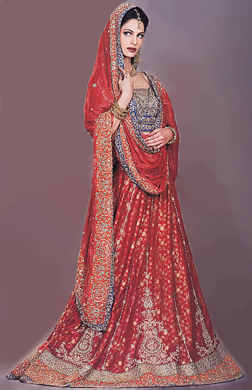 New Bridal Dress Fashion 2011 Pakistani Bridal Collection Delivery