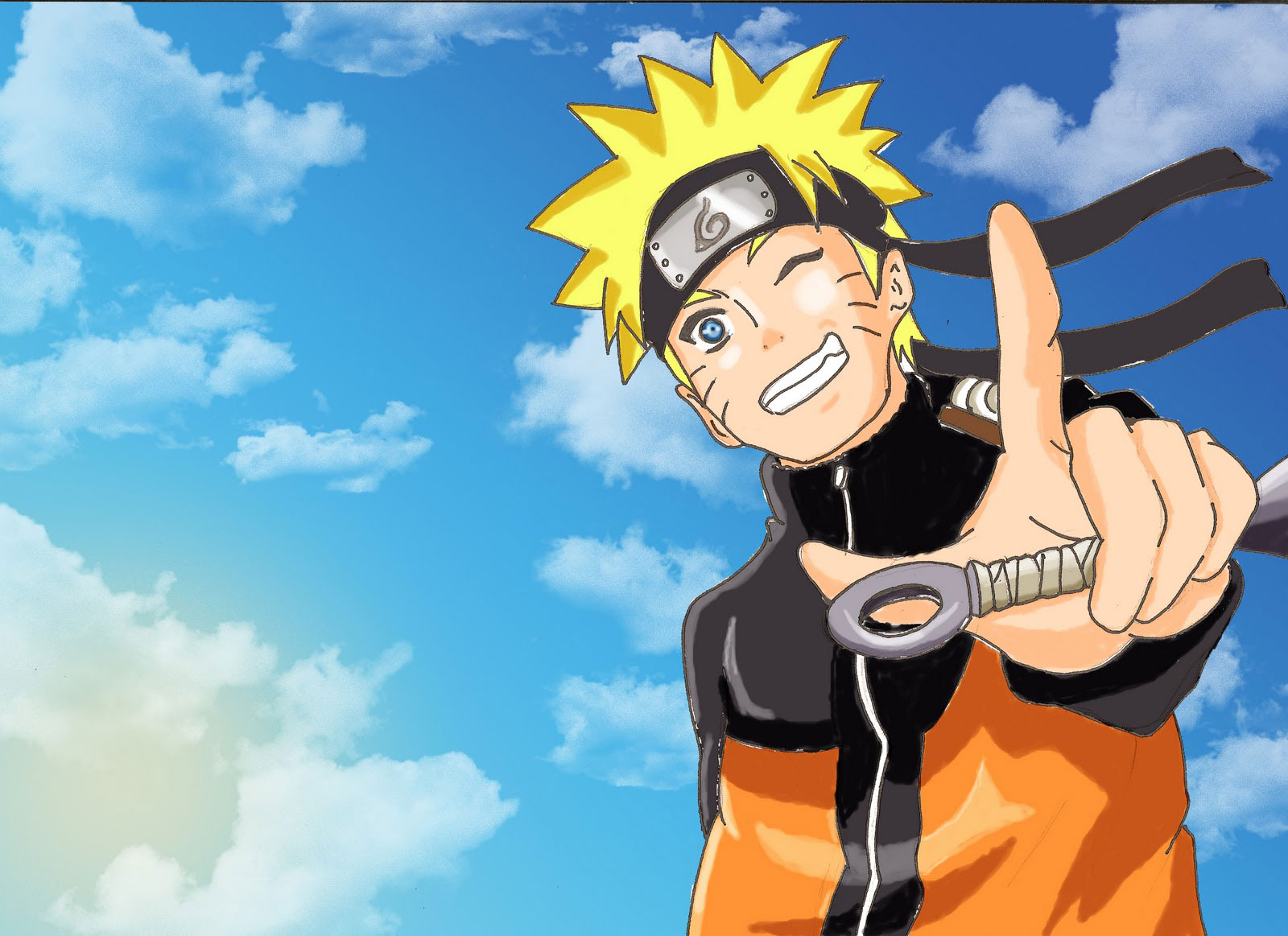 Naruto Uzumaki Shippuden - Comics Wallpaper