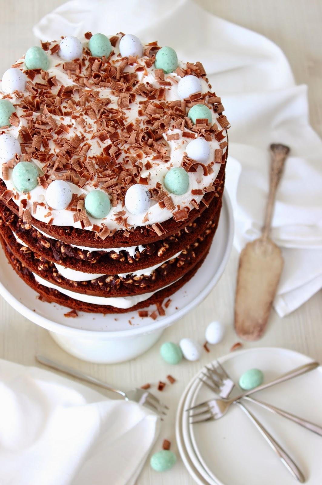 Chocolade-paastaart