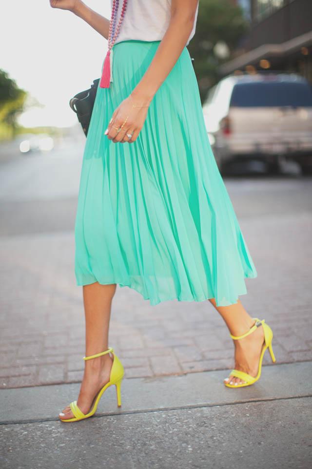 falda midi skirt look invitada boda blog atodoconfetti