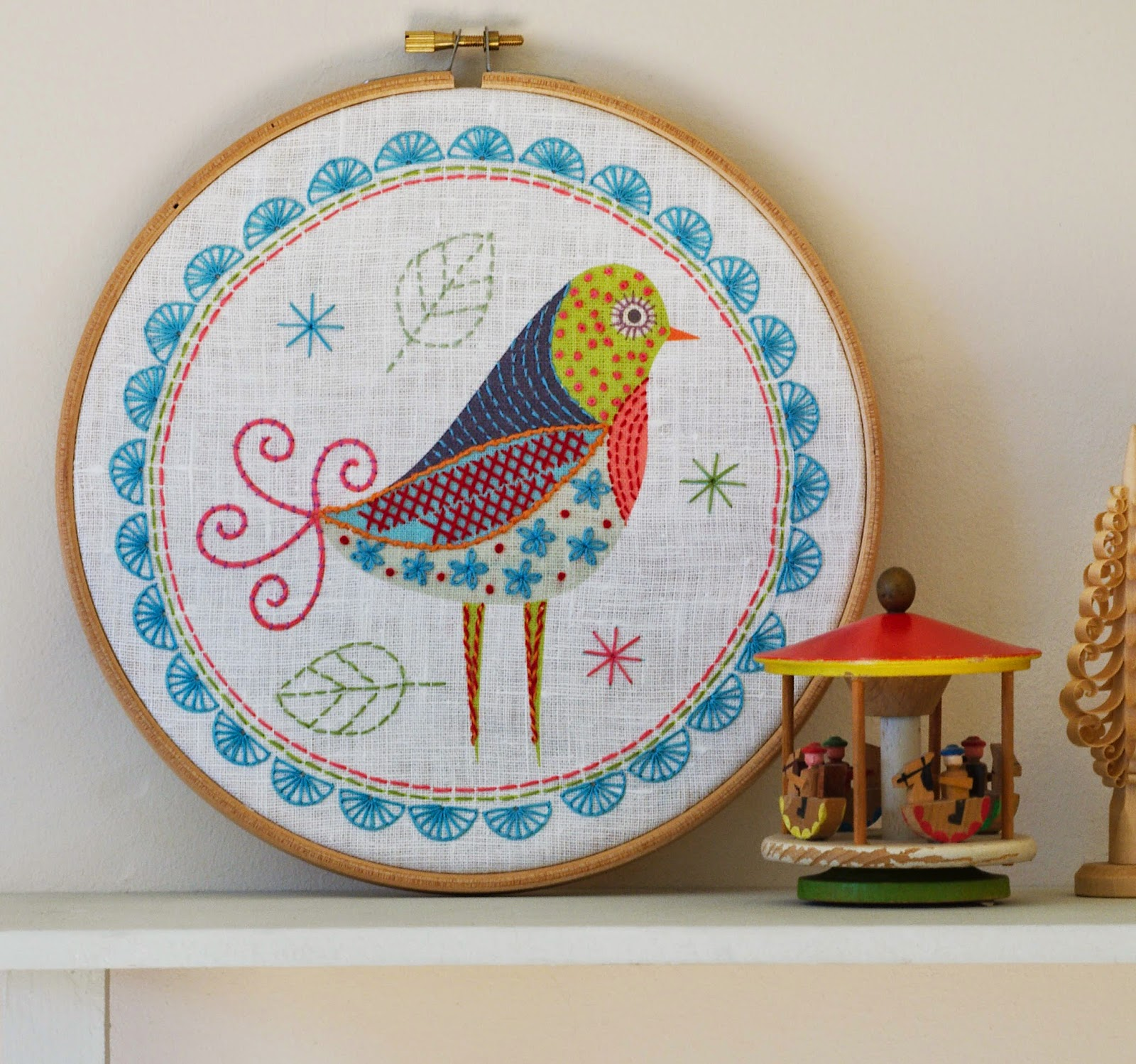 Birdie 1 Embroidery Kit
