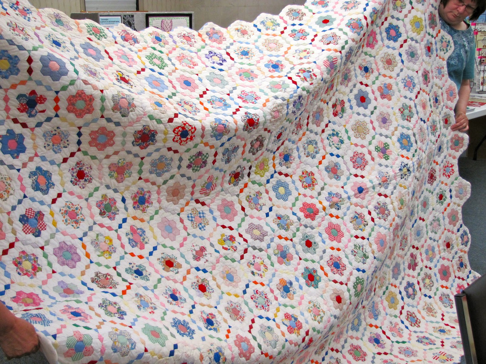 Canton Village Quilt Works Quilt Guild Show And Tell