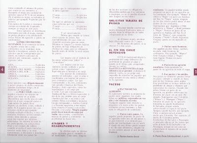 Instrucciones del TEG hojas 14 y 15