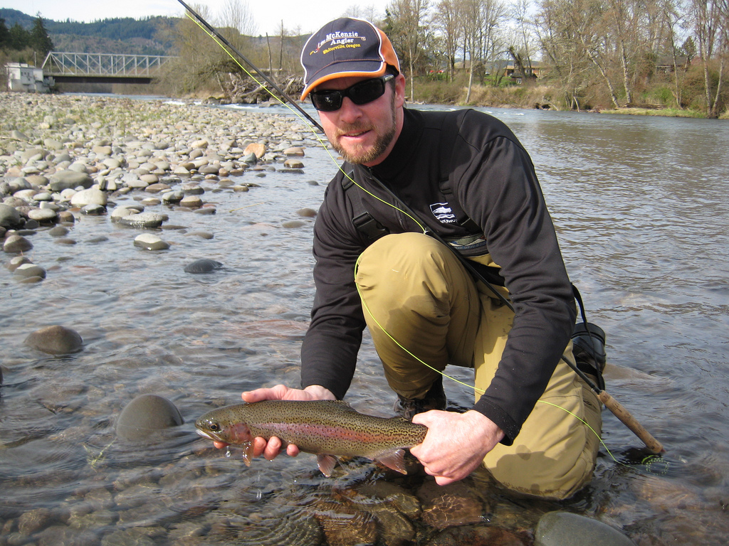 Brian marz 39 s fly fishing oregon blog about brian marz for Mckenzie river fishing
