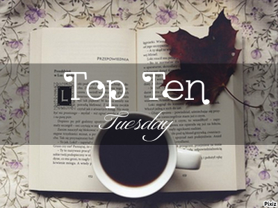 Top Ten Tuesday #8 ~ Mis 10 temas favoritos