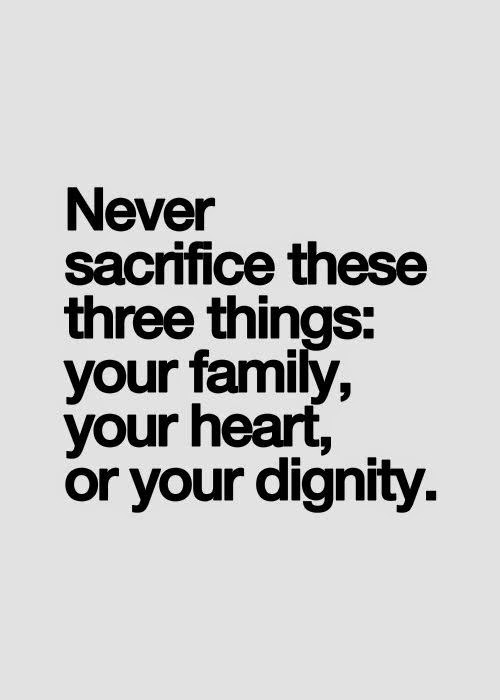 Never Sacrifice